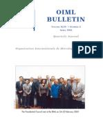 Oiml Bulletin Apr 2003