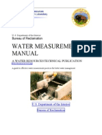 Water Measurement Manual