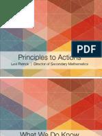 Principles to Actions - CareerTech Presentation