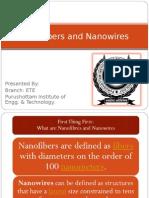 Nanofibers and Nanowires