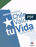 Preguntas Frecuentes Reforma Previsional