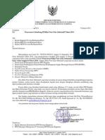 Surat Penawaran Gelombang II Diklat Non GELAR 2014