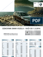 Bmw Cenovnik