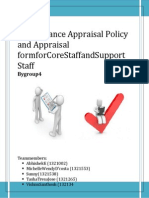 Performance Appraisal Policy and Form