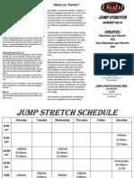 Jump Stretch August 2014