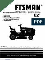 Ez3 917256524 Owners Manual