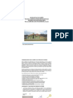Proyecto Vivienda Rural Bioclimatica en Puno