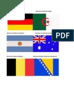 Selección de Fútbol de Alemania Selección de Fútbol de Argelia