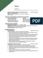 Mindy Brandenburg's Resume