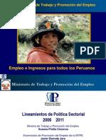 TRABAJO Pol Ticas y Programas de Trabajo Empleo Barreda