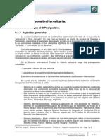 Aspectos Esencialmente Patrimoniales Del Derecho Internacional Privado