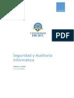 Seguridad y Auditoría Informática