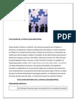 2.Evoluciën de La Psicologia Industrial