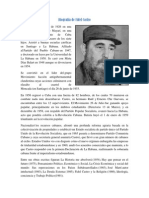 Biografía de Fidel Castro