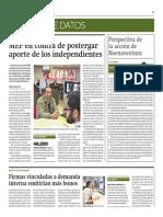 Firmas Vinculadas a Demanda Interna Emitirán Más Bonos_Gestión 5-08-2014
