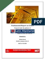 Gold Report Summer Trainee Final