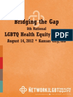 National LGBTQ Health Equity Summit Program 2012