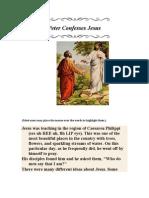 Peter Confesses Jesus 22