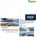 Solar Mounting Structure Design for BTS Site