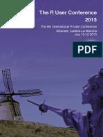 UseR2013 Booklet