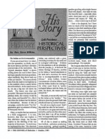 1993 Issue 8 - His Story - Gods Providence, The Indian as Environmentalist - Counsel of Chalcedon