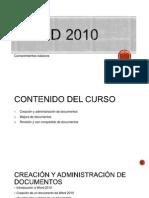 1 Creacion y Administracion de Documentos