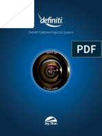 Definiti Projection Systems 2012