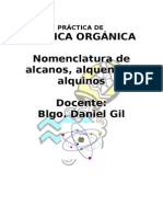 PRÁCTICA de Química Orgánica