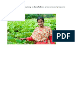 Women Entrepreneurship in Bangladesh