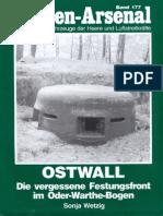 Waffen Arsenal - Band 177 - Ostwall - Die vergessene Festungsfront