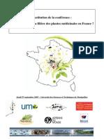 Actes Quel Avenir Pour La Filiere Des Plantes Medicinales en France