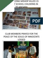 25th Pharmacy Club Activity Rayalaseema