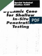 ASTM Cone Penetrometer Handbook