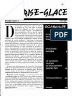 Le Brise-Glace N°4 - Été 1990