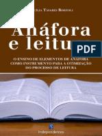 Anafora e Leitura - Cecilia Aparecida Tavares