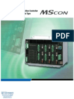 IAI MSCON Controller Specsheet