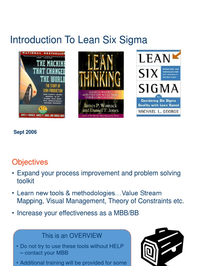Lean six sigma overview pdf download