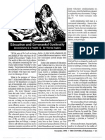 1993 Issue 9 - Education and Covenantal Continuity, Deuteronomy 6 and Psalm 78