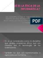 Etica Informática