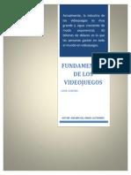 Programa de Estudios Fundamentos de Los Videojuegos