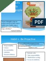 7 habits board