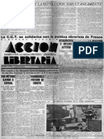 Acción Libertaria, Nº 25. Febrero1937