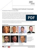 The CIO at a Technology and Cultural Crossroads