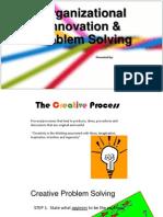 Organizational Innovation & Problem Solving
