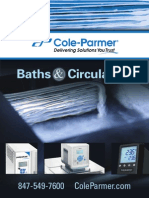 Cole-Parmer Baths Circulators Catalog