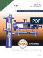 Model 75 Gas Filter Separator Ltr