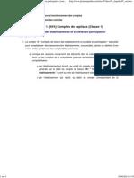 Comptes de Liaison Des Établissements Et Sociétés en Participation (Comptes 18) - Plan Comptable Général