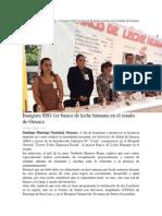 03-08-14 Oaxaca.me 1 Banco de Leche