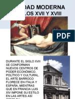 FICHA 7. LA EDAD MODERNA (SIGLOS XVII Y XVIII)