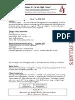 algebra 2 syllabus 14-15